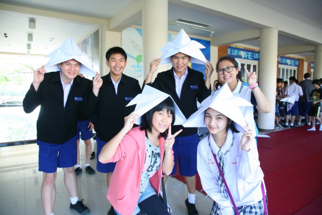 IThai Japanese cultural exchange students varee school Thailand Chiang Mai